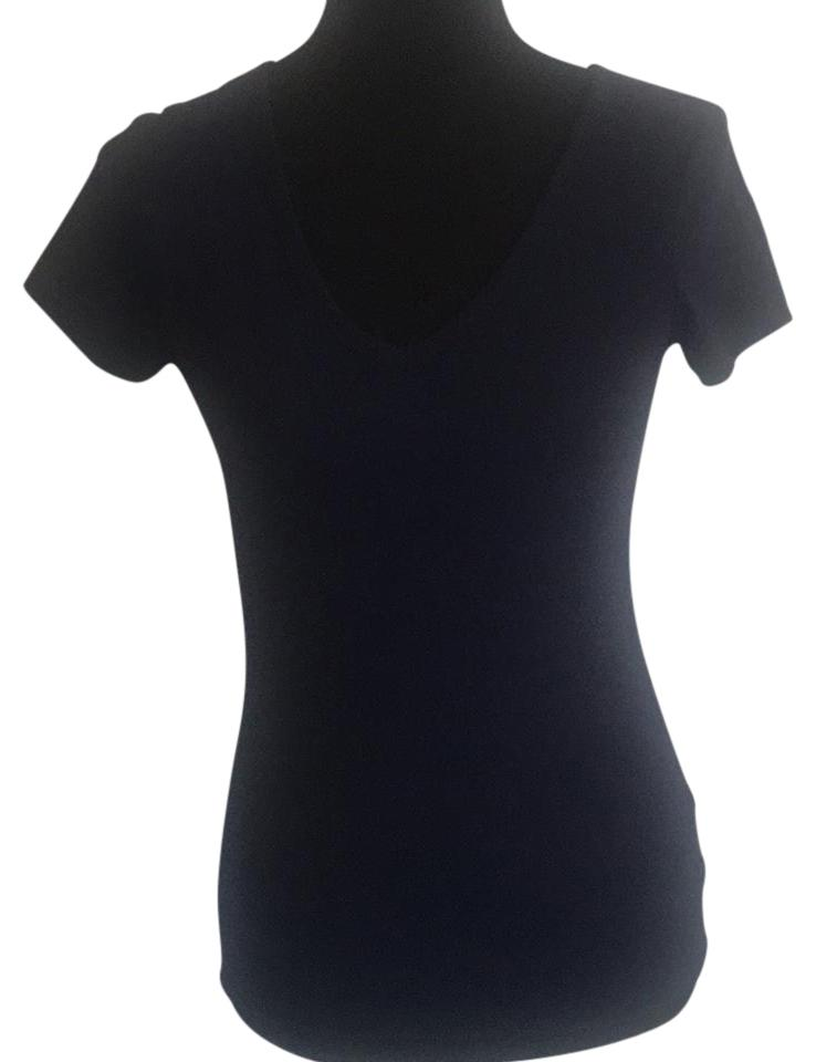 Victoria 39 S Secret V Neck T Shirt Dark Blue On Tradesy