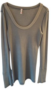 Free People Cuff Thermal Motor Vintage Sweater
