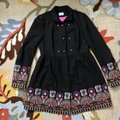 Anthropologie Black Through-the-lens Elimovna Plenty By Tracy Reese Coat Size 4 (S) Anthropologie Black Through-the-lens Elimovna Plenty By Tracy Reese Coat Size 4 (S) Image 5