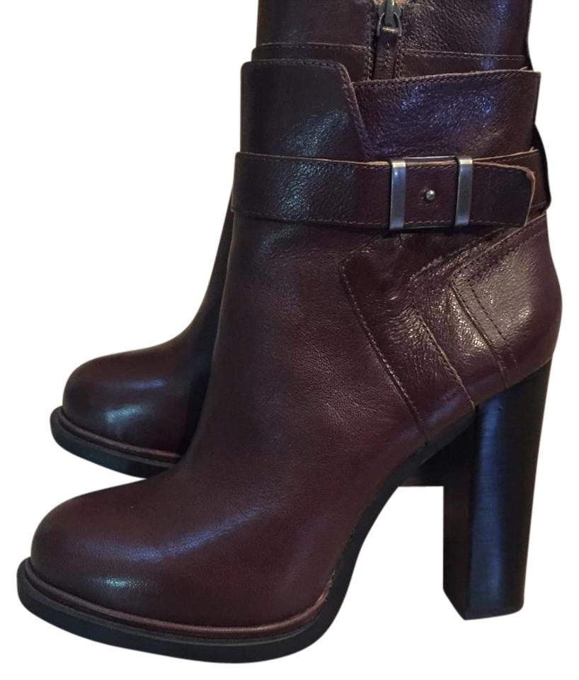 Nine West Brown Brown West Sherbert Round-toe Boots/Booties fd883c