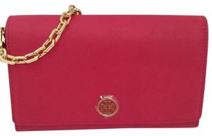 Tory Burch Wallet Gold Hardware Cross Body Bag