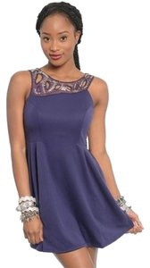 Mustard Seed short dress Purple on Tradesy