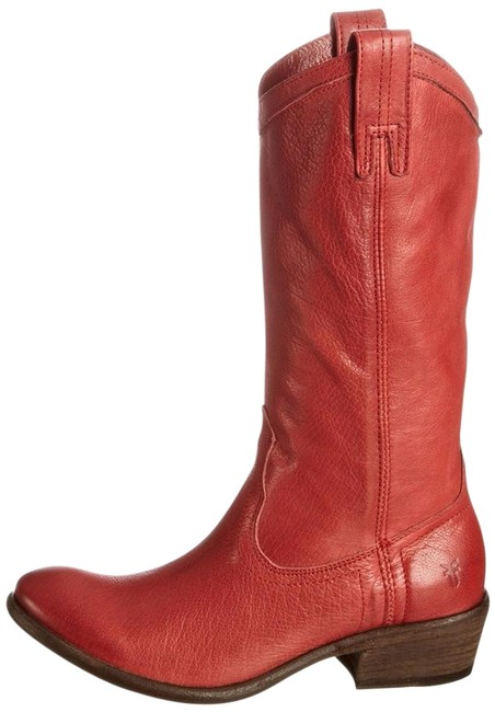 Item - Burnet Red Carson Pull On Boots/Booties Size US 8 Regular (M, B)
