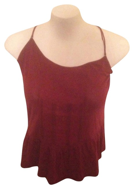 American Eagle Outfitters Top Burgundy