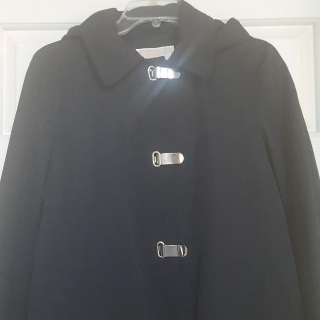 MICHAEL Michael Kors Raincoat Raincoat Raincoat Removable Hood Trench Coat Image 2
