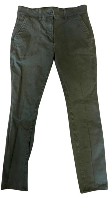 Item - Army Green Skinny Brushed Twill Pants Size Petite 6 (S)