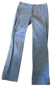 Brooks Brothers Classic Timeless Catherine Fit Size 6 Trouser Pants Blue and white stripe