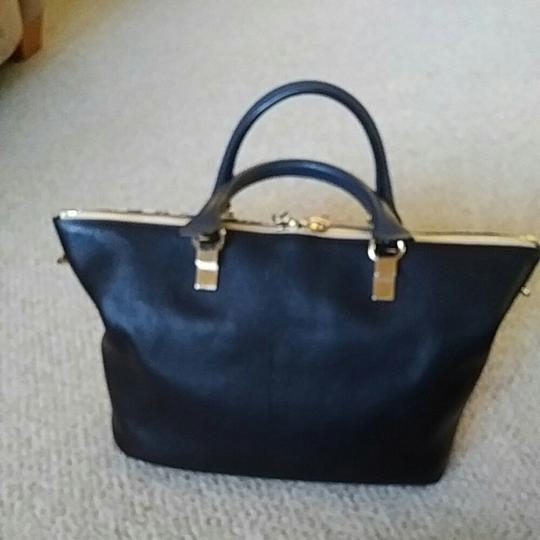 Chloé Satchel in Spotted black and white Image 2
