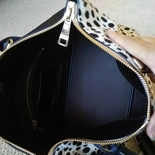 Chloé Satchel in Spotted black and white Image 6