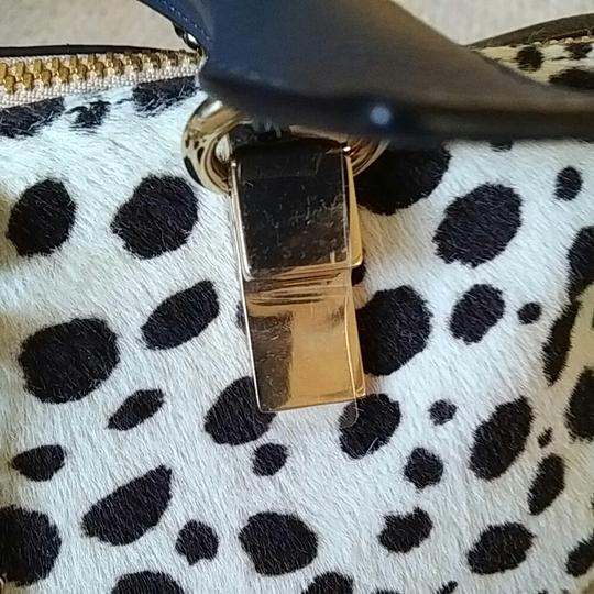 Chloé Satchel in Spotted black and white Image 7