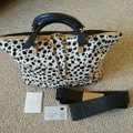Chloé Satchel in Spotted black and white Image 9