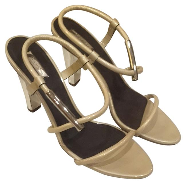 Calvin Klein Collection Pearl/ Ivory Sandals Size US 9.5 Regular (M, B) Calvin Klein Collection Pearl/ Ivory Sandals Size US 9.5 Regular (M, B) Image 1