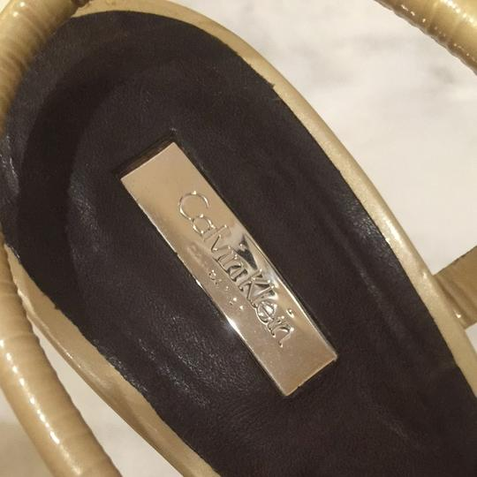 Calvin Klein Collection Pearl/ Ivory Sandals