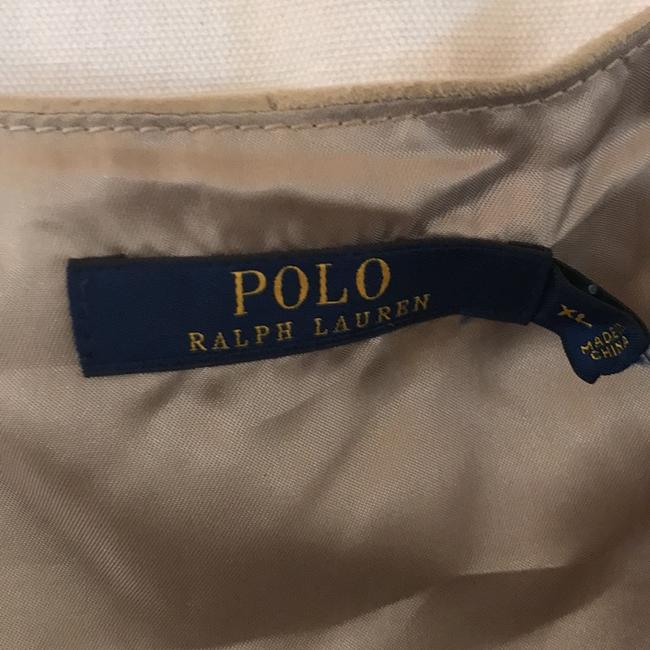 Polo Ralph Lauren Fully Lined Warm Top Soft Almond REAL SUEDE Image 1