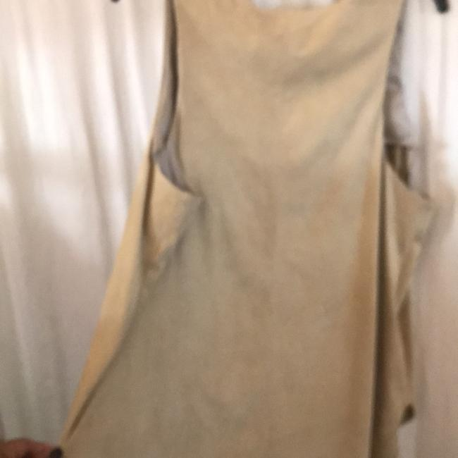 Polo Ralph Lauren Fully Lined Warm Top Soft Almond REAL SUEDE Image 3