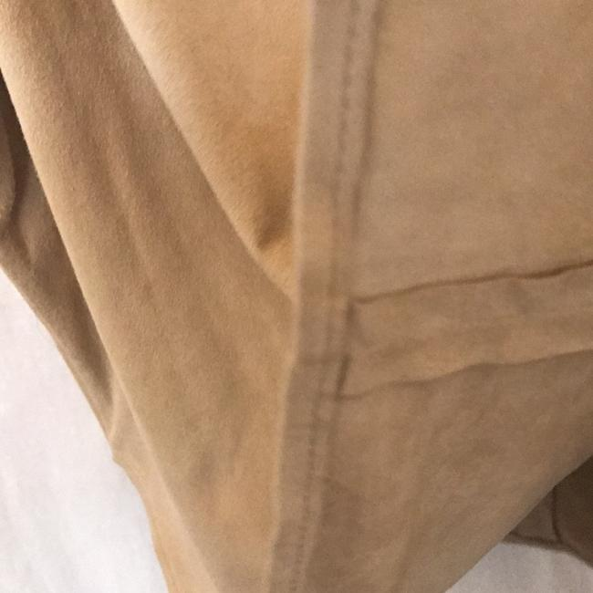 Polo Ralph Lauren Fully Lined Warm Top Soft Almond REAL SUEDE Image 4