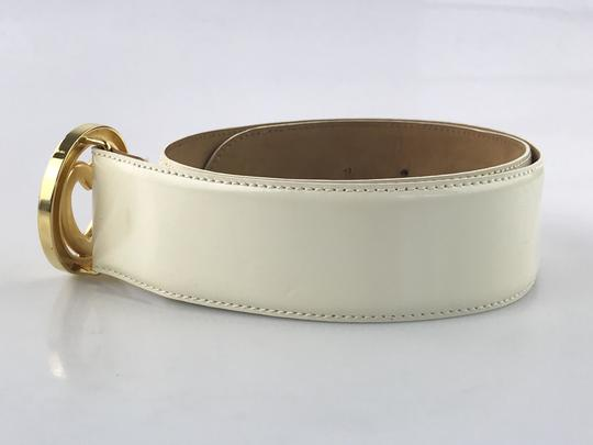 Moschino Heart Buckle Patent Leather Belt Image 3