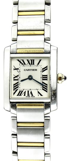 Preload https://img-static.tradesy.com/item/22167116/cartier-stainless-steel-and-gold-francaise-2384-two-tone-ladies-watch-0-1-540-540.jpg