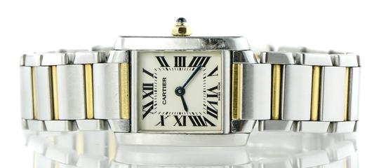 Cartier Cartier Francaise 2384 Two Tone Gold and Stainless Steel Ladies Watch Image 1