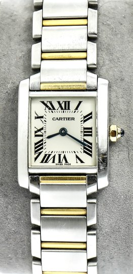 Cartier Cartier Francaise 2384 Two Tone Gold and Stainless Steel Ladies Watch Image 7