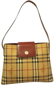 Burberry Refurbished Euc Lined Shoulder Bag