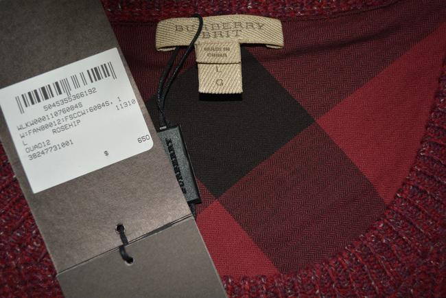 Burberry Brit Long Sleeve Womens Cashmere Sweater Image 8