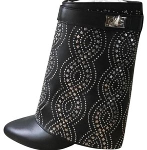 Givenchy black silver Boots