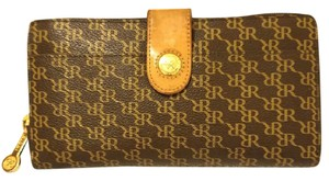 Rioni Brown and Spicy Mustard Wallet