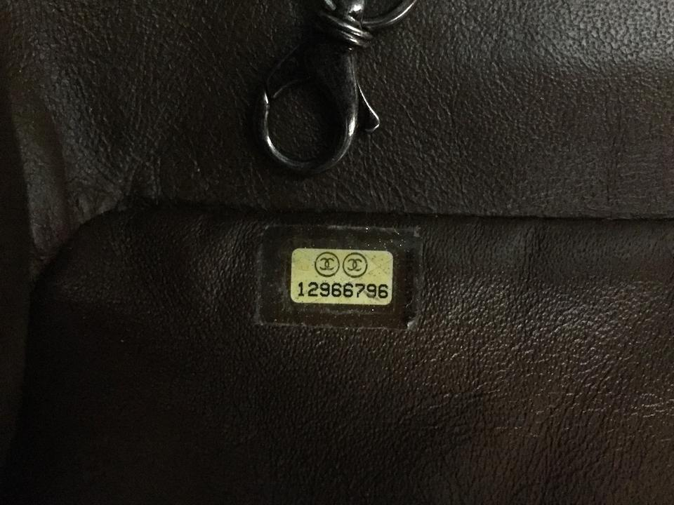 73e061b2bc04 Chanel Leather Crinkle Chain Tote in Bronze Image 11. 123456789101112