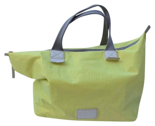 Preload https://img-static.tradesy.com/item/22167574/marc-by-marc-jacobs-large-totetravel-light-neon-green-nylon-and-leather-tote-0-1-540-540.jpg