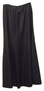 AllSaints Maxi Skirt dark brown