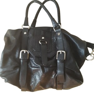 The Sak Leather By Sack5th Tote in Black