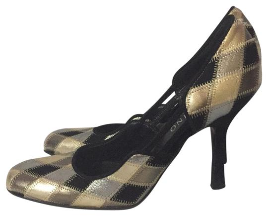 Valentino GOLD/SILVER/BLACK Pumps Image 1