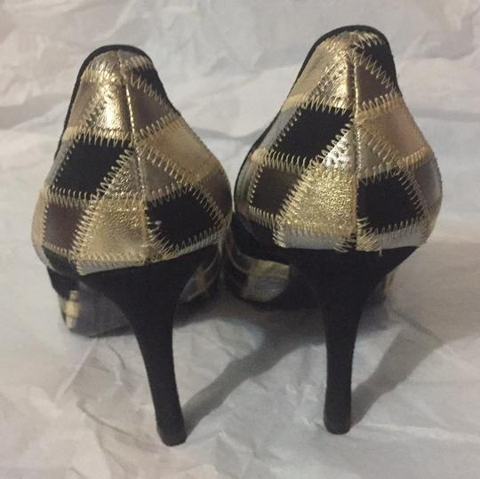 Valentino GOLD/SILVER/BLACK Pumps Image 4