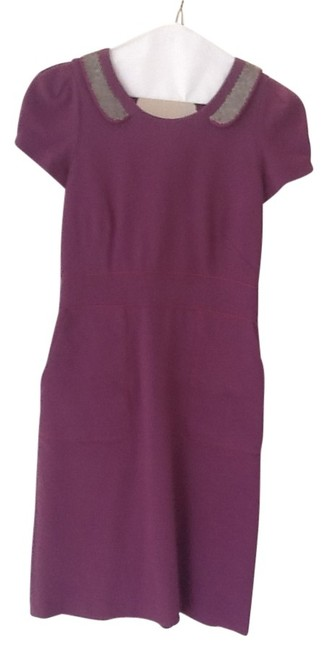 Preload https://img-static.tradesy.com/item/22168/rebecca-taylor-plum-workoffice-above-knee-workoffice-dress-size-2-xs-0-0-650-650.jpg