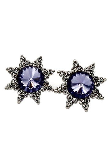 Preload https://img-static.tradesy.com/item/22168035/purple-cabinet-crystal-sun-earrings-0-0-540-540.jpg