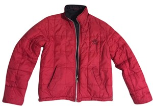 Guess Reversible red and black Jacket