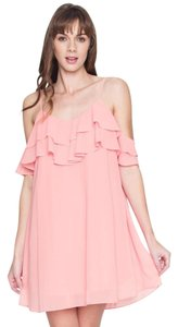 d9aa36c183b1 Love Riche short dress Pink Lemonade Layered on Tradesy