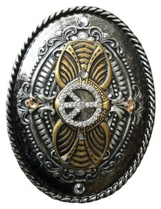 Ivan Grundahl Ivan Woman's Peace Belt Buckle with Gems
