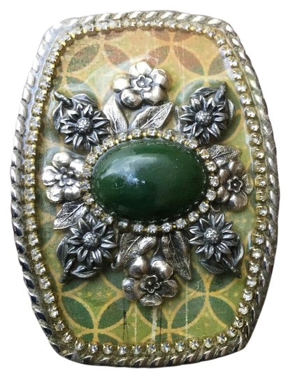 Preload https://img-static.tradesy.com/item/22168848/green-designs-one-of-a-kind-artisan-womans-gem-buckle-hand-belt-0-1-540-540.jpg