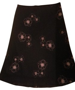 Wrapper Skirt Black and Pink
