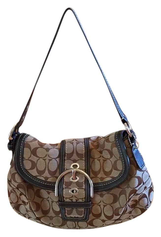 223341cd5659 Coach Signature C Beige Canvas and Leather Hobo Bag - Tradesy