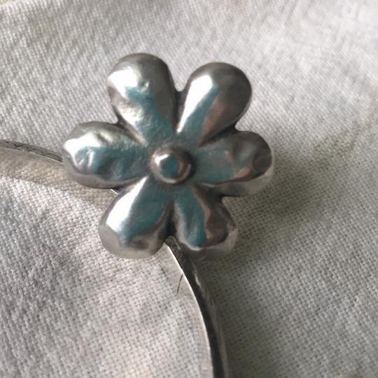 Silver Flower Ring silver flower ring Image 1