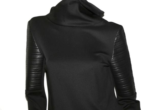GENERATION LOVE Bonded Longsleeve Top Black Image 4