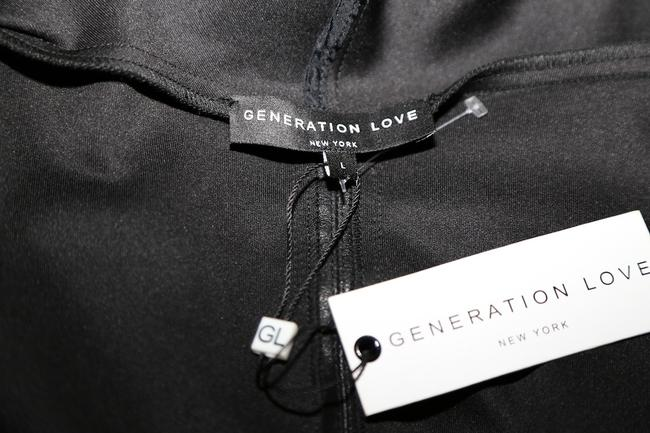 GENERATION LOVE Bonded Longsleeve Top Black Image 9