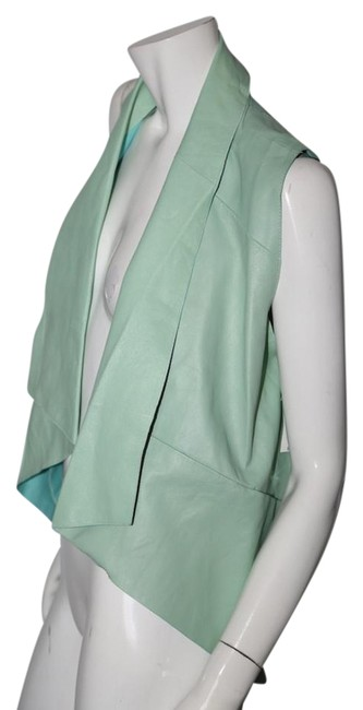 Preload https://img-static.tradesy.com/item/22169753/green-collection-nicole-leather-vest-size-4-s-0-1-650-650.jpg