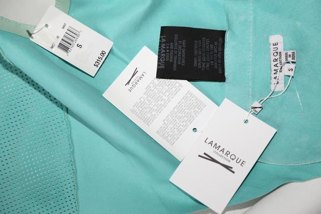 LAMARQUE Mint Perforated Vest Image 10