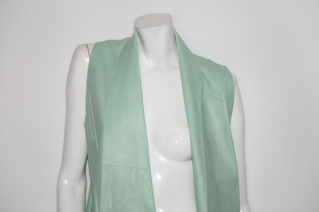 LAMARQUE Mint Perforated Vest Image 2