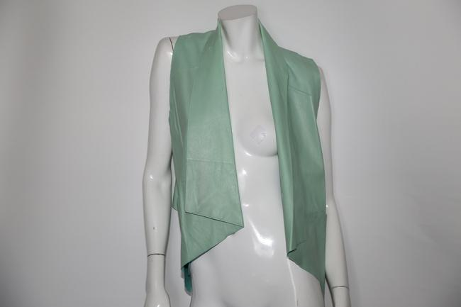 LAMARQUE Mint Perforated Vest Image 3