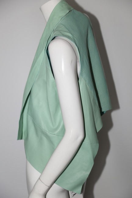 LAMARQUE Mint Perforated Vest Image 4